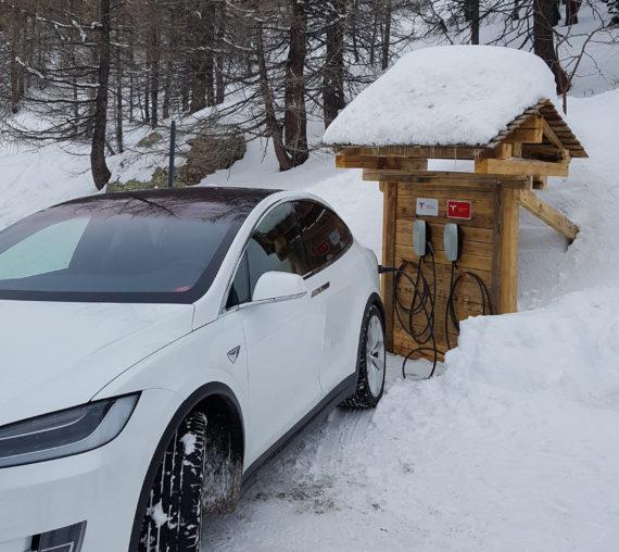 BORNE RECHARGEMENT véhicule électrique